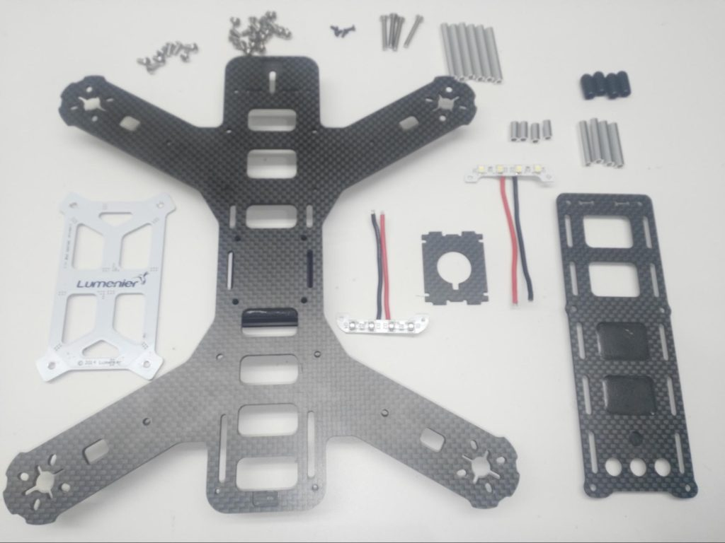 Hardware for QAV250 frame