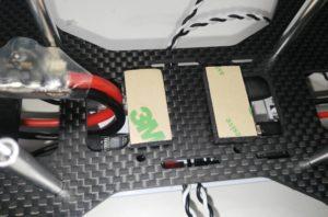 Add damping foam to frame (for Pixhawk)