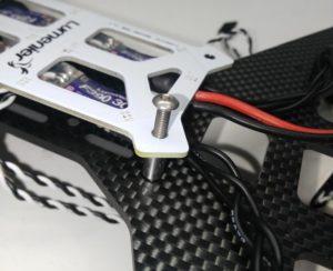 Attach wired PDB to frame on QAV250