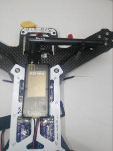 Mount 3DR Wifi Telemetry Radio Kit to QAV250