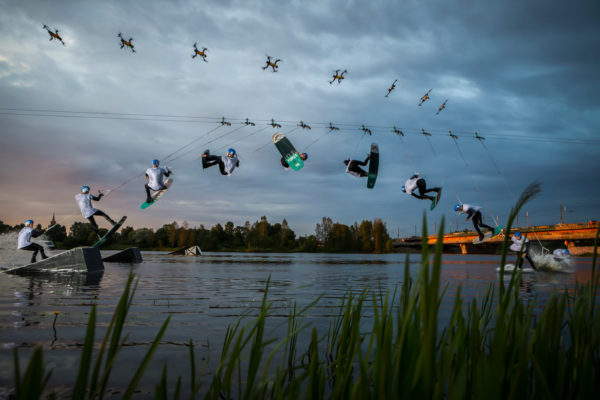 AirDog WakeParkSequence