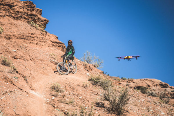 Airdog Mountainbiking Takeoff
