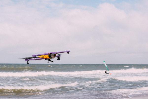 Airdog Windsurf landing